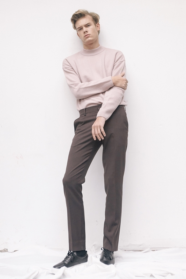 Mono Relax Pants(Brown)